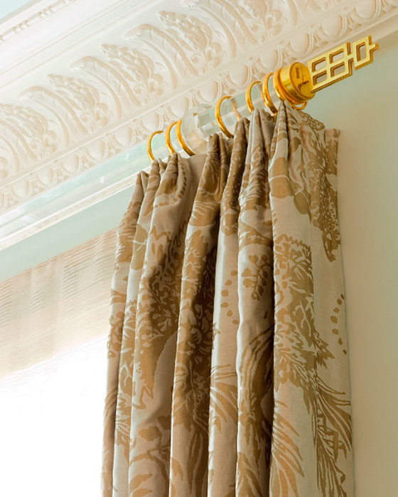 Mary Anne Smiley Acrylic-22K-Gold-Drapery-Hardware-Detail.jpg