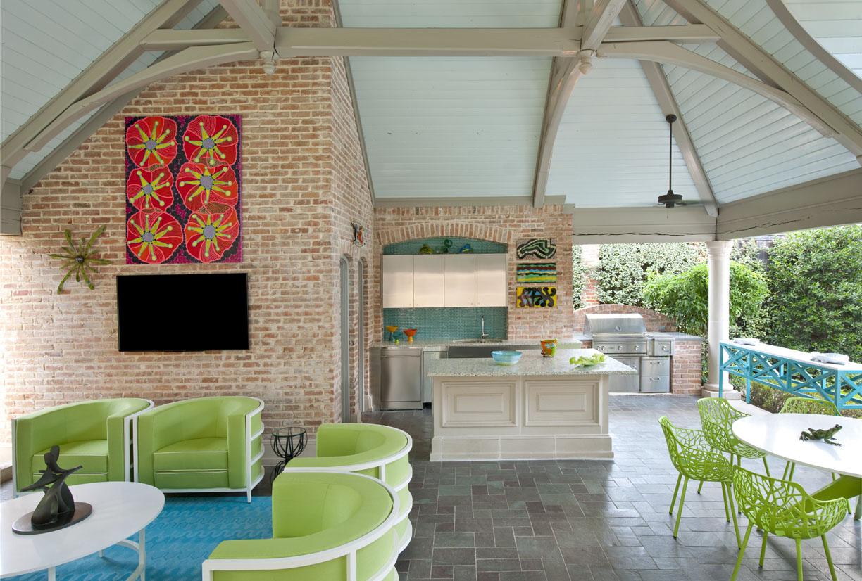 ASID LEGACY OF DESIGN 2015 HONORABLE MENTION OUTDOOR SPACE CABANA PATIO CONTEMPORARY MARY ANNE SMILEY INTERIORS