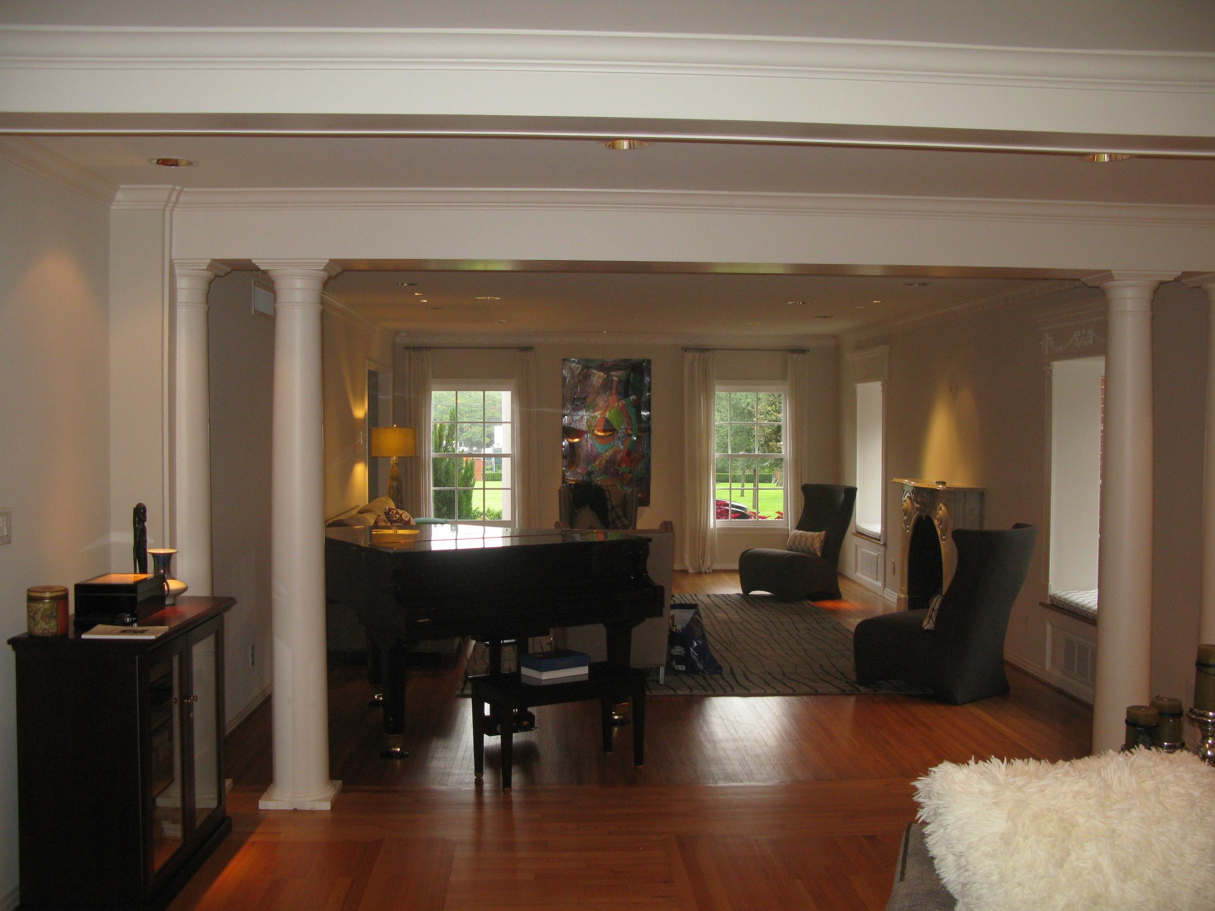 Meadowood Sitting Room Before