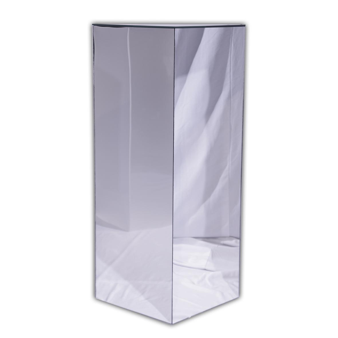"""Reflection Pedestal. 16"""" x 16"""" x 42""""."""