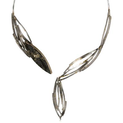 Pyrite in slate wave collar.
