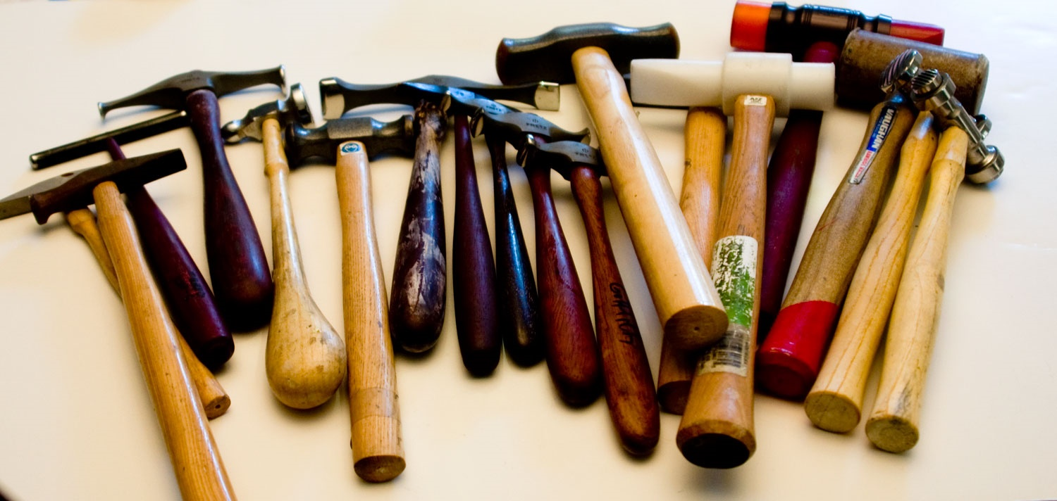 Mycollection of hammers