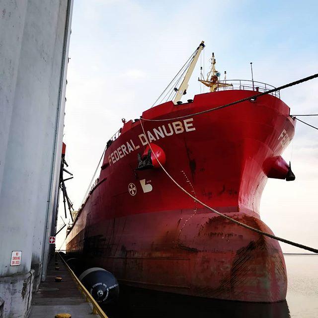 Federal Danube #portofthunderbay #thunderbay #thunderbayshipping #bulkcarrier #fednav