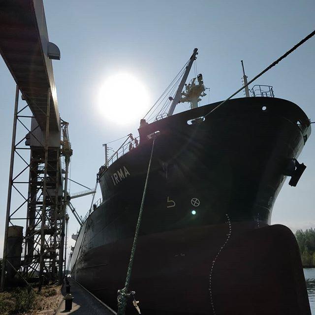 Irma #portofthunderbay #thunderbay #thunderbayshipping #bulkcarrier #polsteam