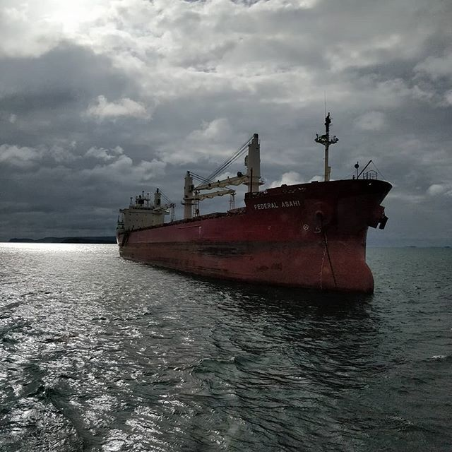 Federal Asahi #portofthunderbay #thunderbay #thunderbayshipping #lakesuperior #bulkcarrier #fednav