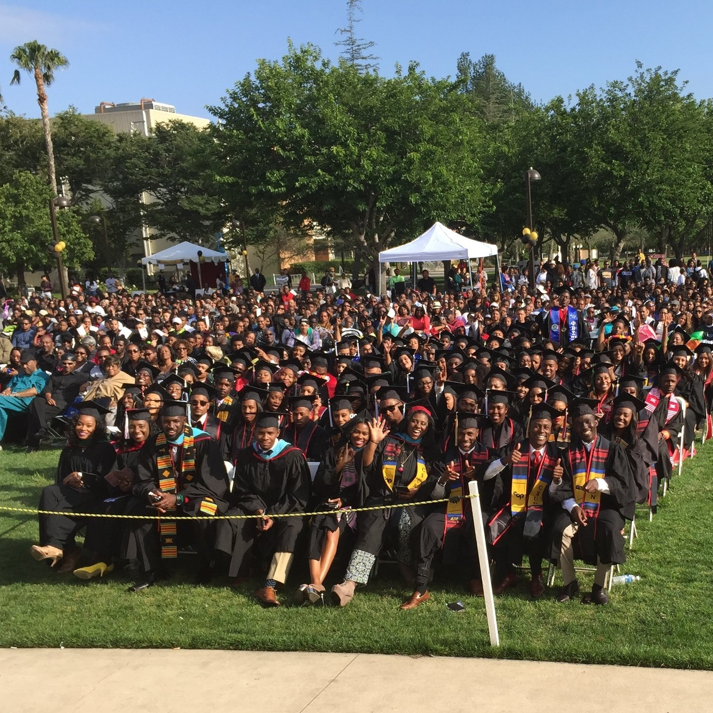 California - Of everything that I've done, delivering the commencement address CSUN - California State University Northridge - and inspiring the graduates, their parents, family, faculty and staff ranks pretty high up there!