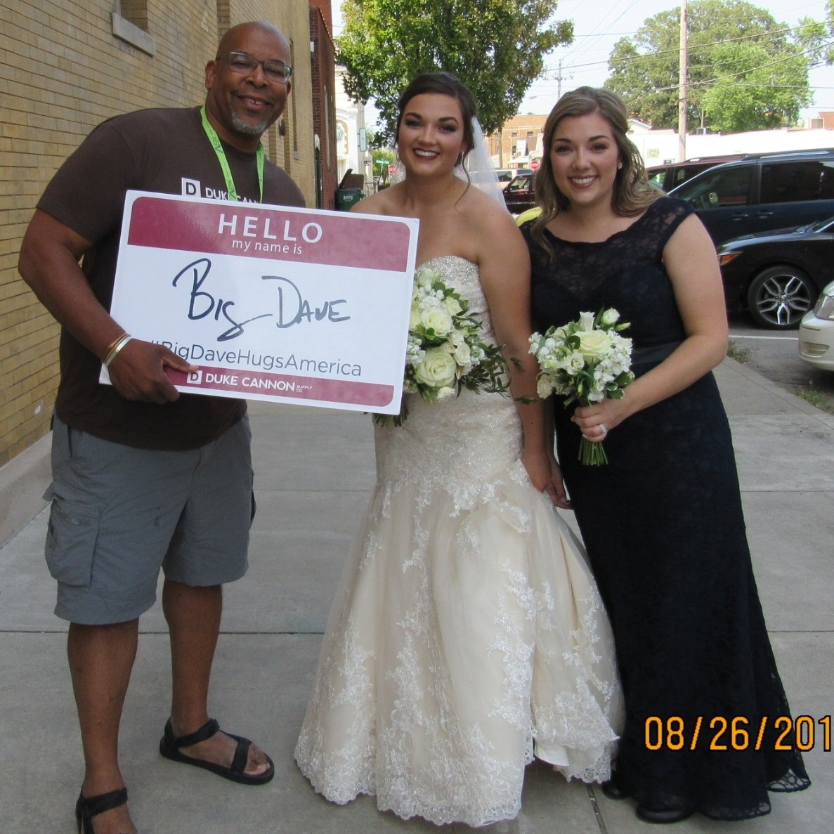 Indiana - In Indainaapolis, I ran up to this bride-to-be and said,