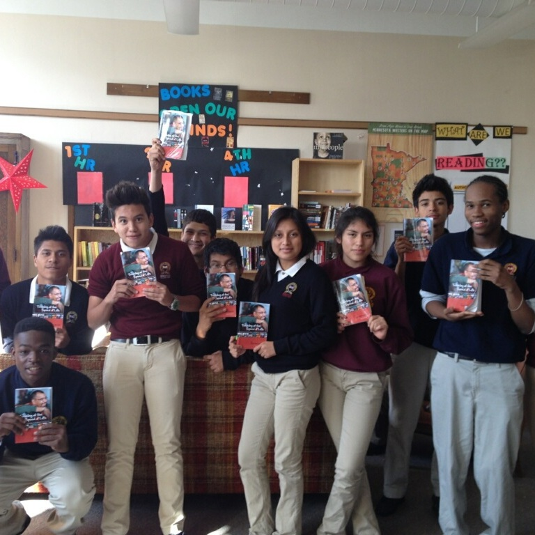 Minnesota - Guess what book the students of Minneapolis College Preparatory School have to read???That's right, my book: Traveling at the Speed of Life!
