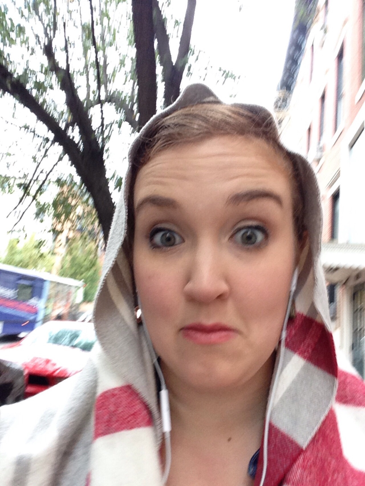 My rainy day selfie on my way to Chorus auditions for Baltimore Lyric Opera.