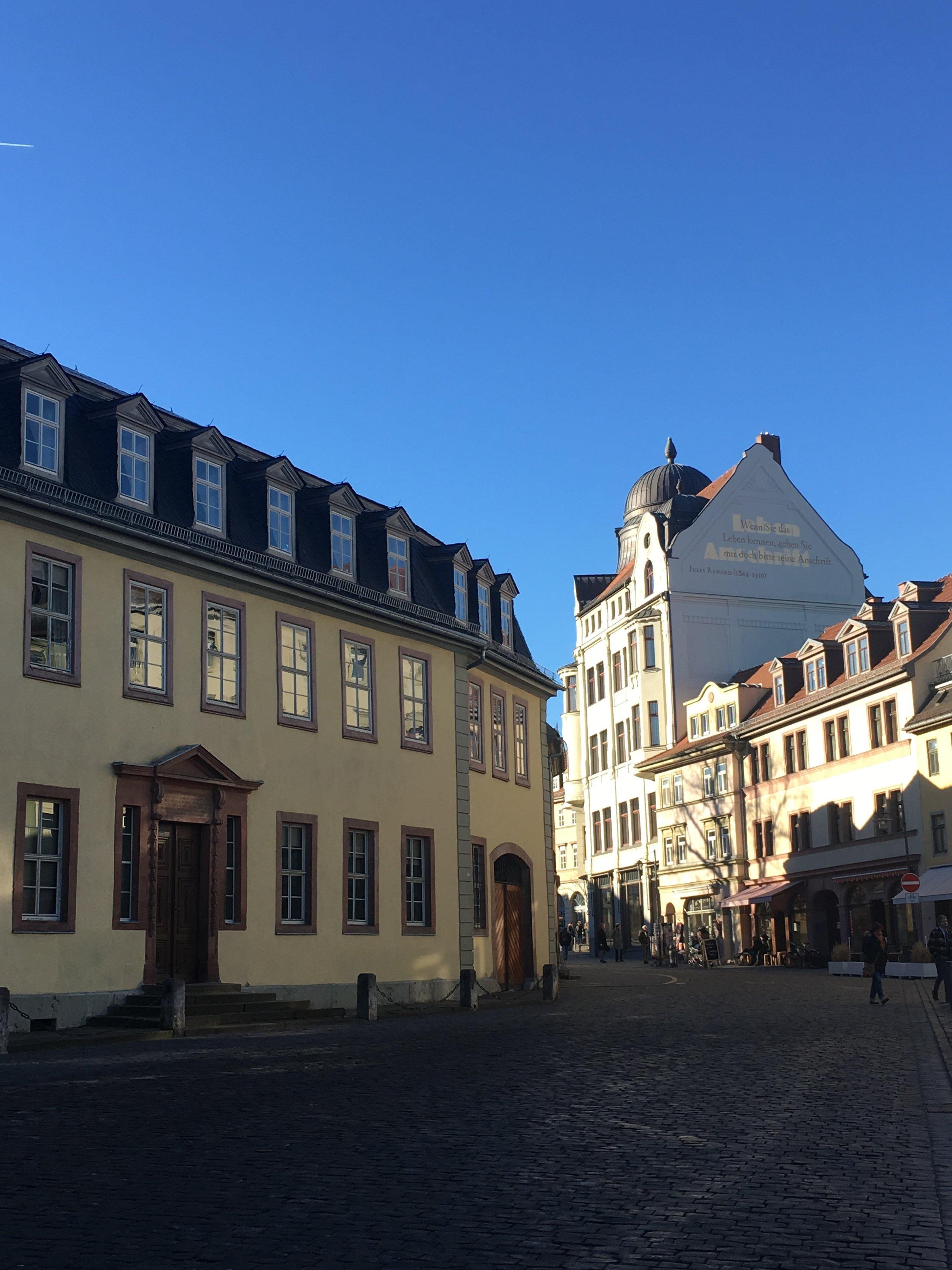 Weimar - near Goethe Haus