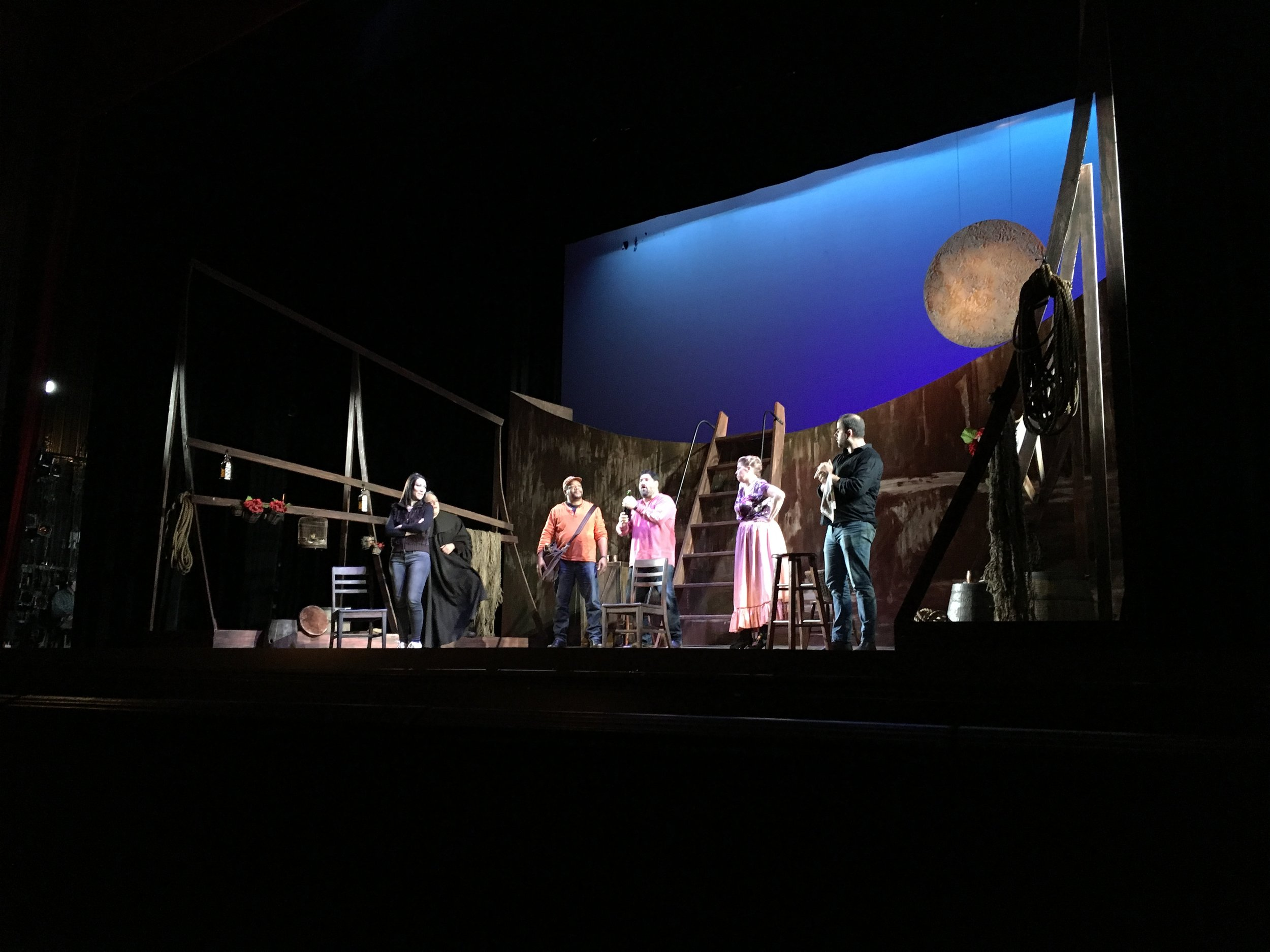 Il tabarro dress rehearsal