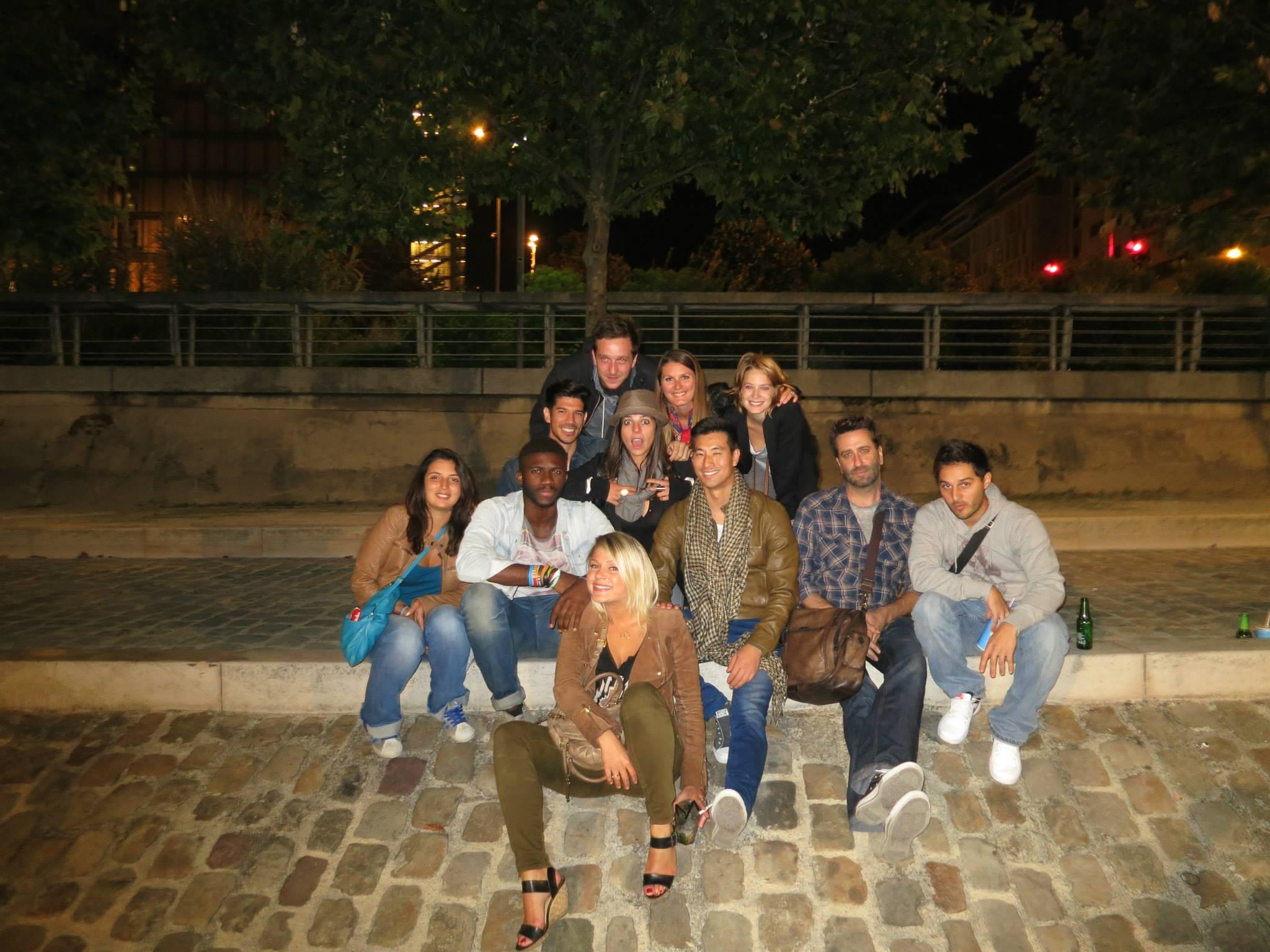 New Friends in Paris!