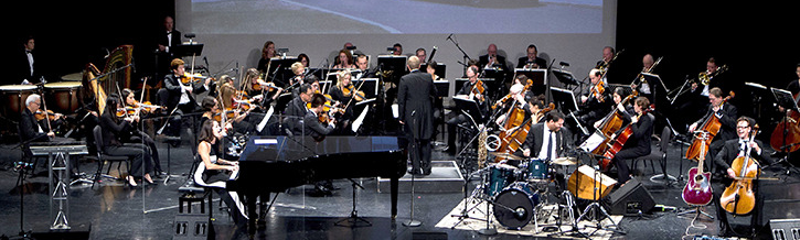 [Chantal Kreviazuk performed her song 'All I Can Do' with members of the Richmond Orchestra Saturday night at Richmond Hospital Foundation's Starlight Gala. - Richard Lam/Richmond Hospital Foundation photo]Chantal Kreviazuk performed her song 'All I Can Do' with members of the Richmond Orchestra Saturday night at Richmond Hospital Foundation's Starlight Gala.—Image Credit: Richard Lam/Richmond Hospital Foundation Photo