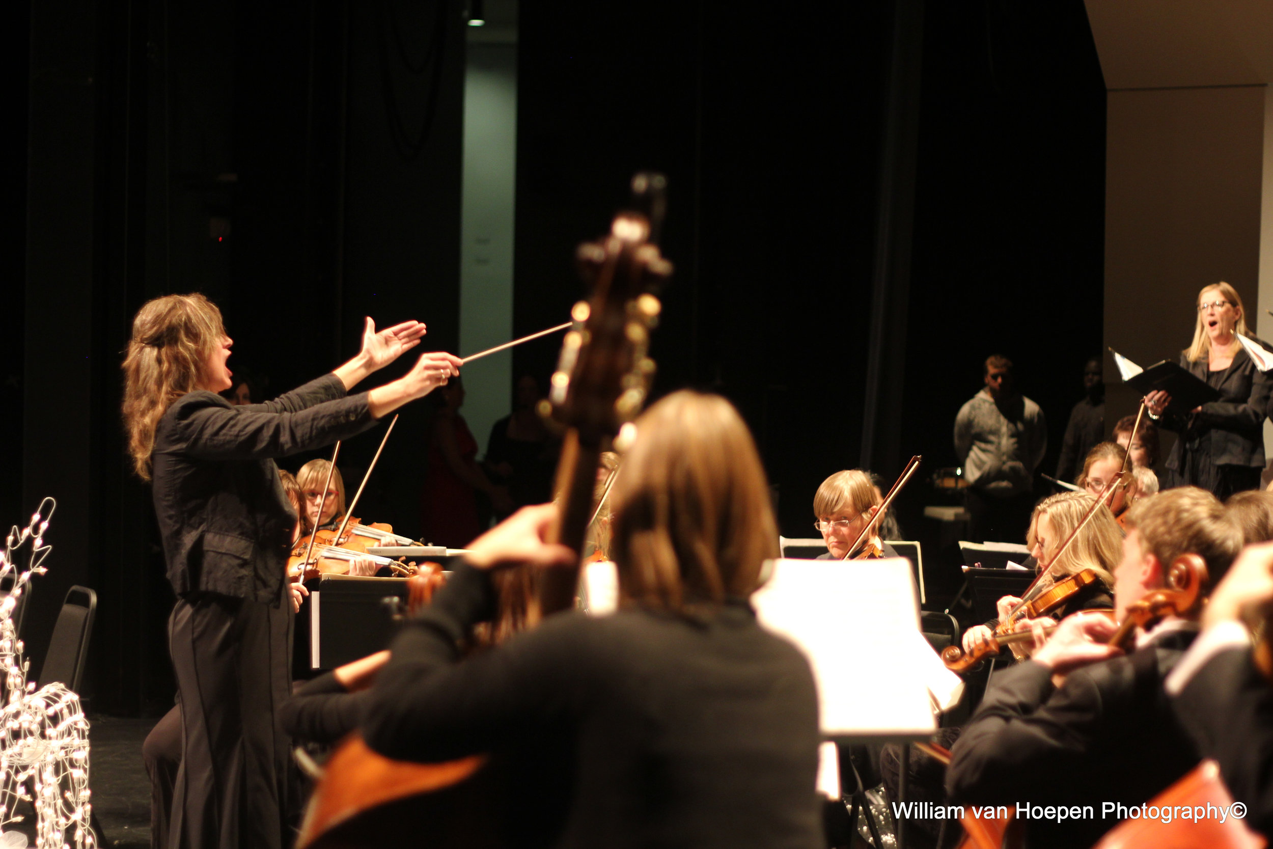 The Chilliwack Symphony Orchestra and Chorus (CSO) is a non-profit society, incorporated in August 1999. The late Maestro John van Liempt and Paula DeWit, founded the CSO.   It was created to offer Chilliwack music lovers their own first class symphony orchestra and chorus.  The CSO is Chilliwack's finest and most prestigious cultural and music asset. To hear the world's finest music masterpieces played by musicians and sung by singers from the Fraser Valley is an exhilarating and profound experience. Concerts leave patrons singing and humming our music on their way home.