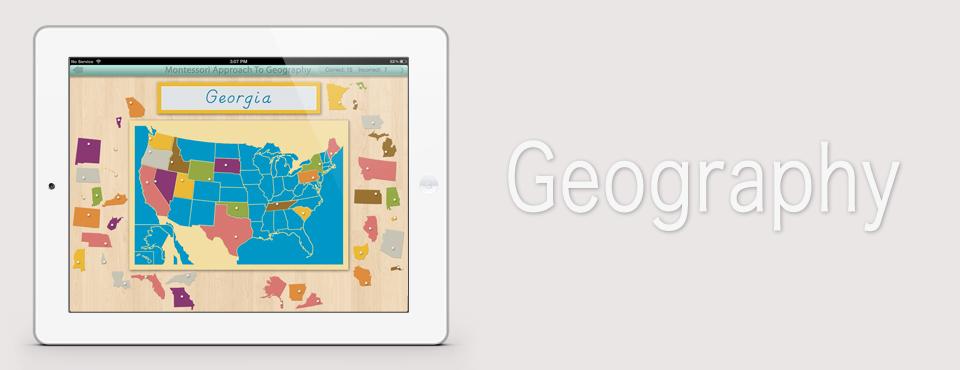 United States of America app by Mobile Montessori