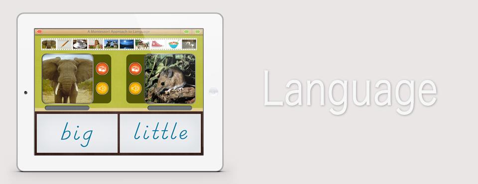 Opposites app by Mobile Montessori