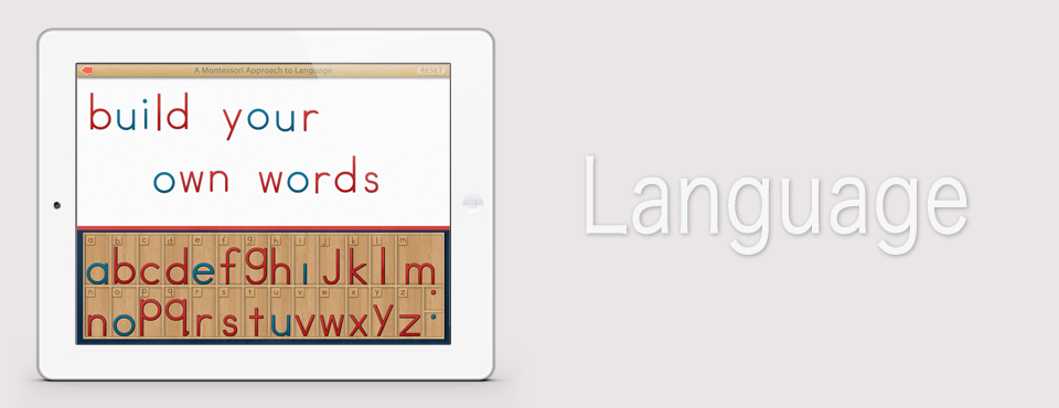 Movable Alphabet app by Mobile Montessori