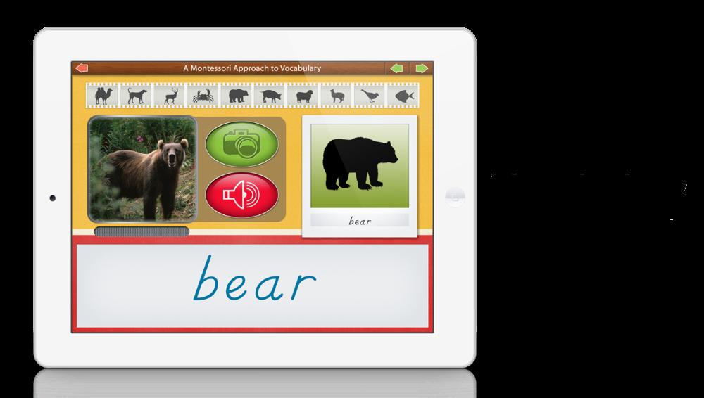Vocabulary - Animals by Mobile Montessori