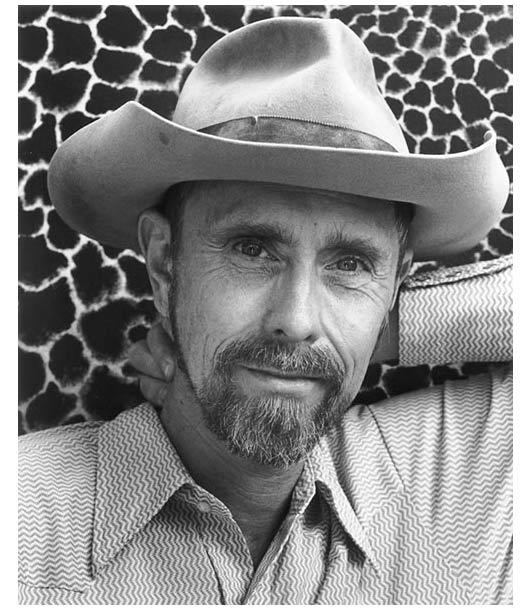 Artist and filmmaker Bruce Conner, San Francisco, California, in 1986; Photo:  Chris Felver/Getty