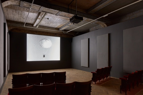 Installation of A MOVIE, Thomas Dane Gallery,May 6th –July 15th, 2017; © Conner Family Trust, San Francisco; Courtesy of Thomas Dane Gallery, London