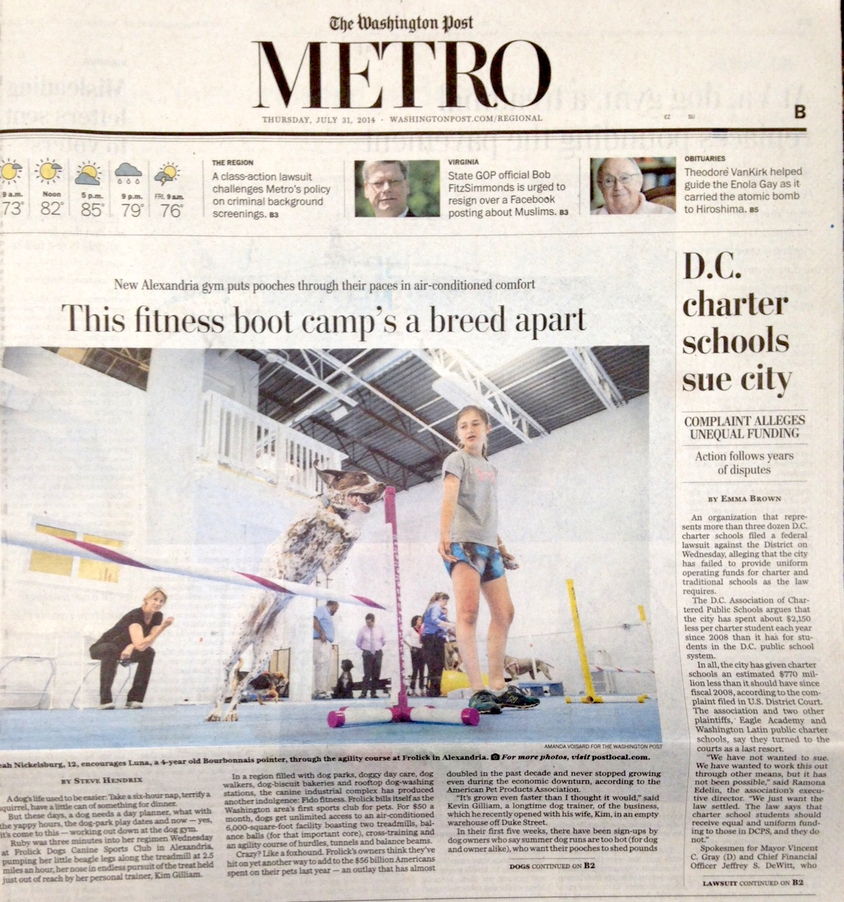 Washington Post, July 30 2014