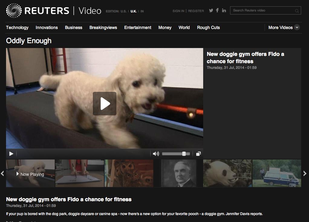 Reuters, July 31 2014