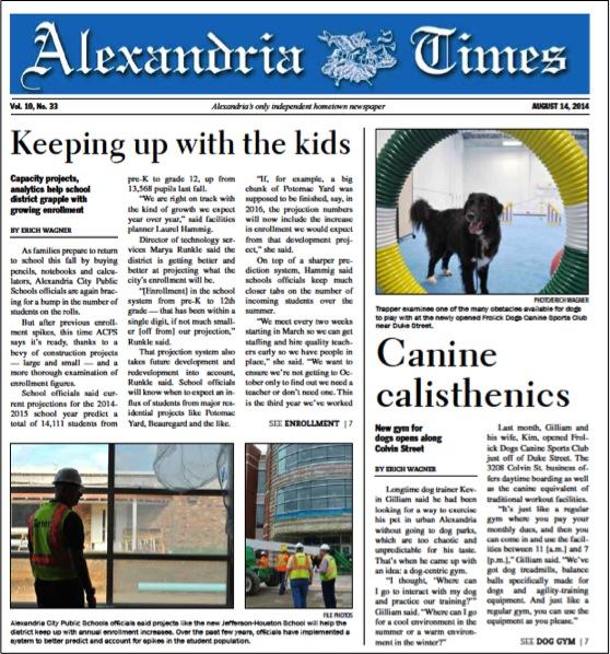 Alexandria Times, August 14 2014