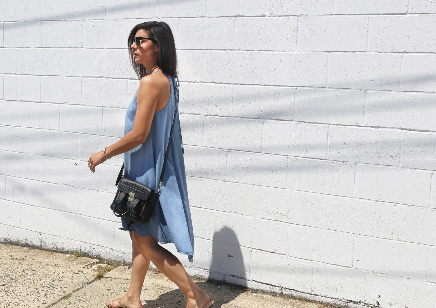 Target chambray dress