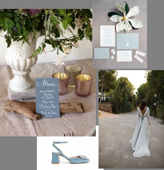Decoração   Design Events Wedding // Sapatos Roger Vivier // vestido Sole Alonso // estacionário // Style Me Pretty