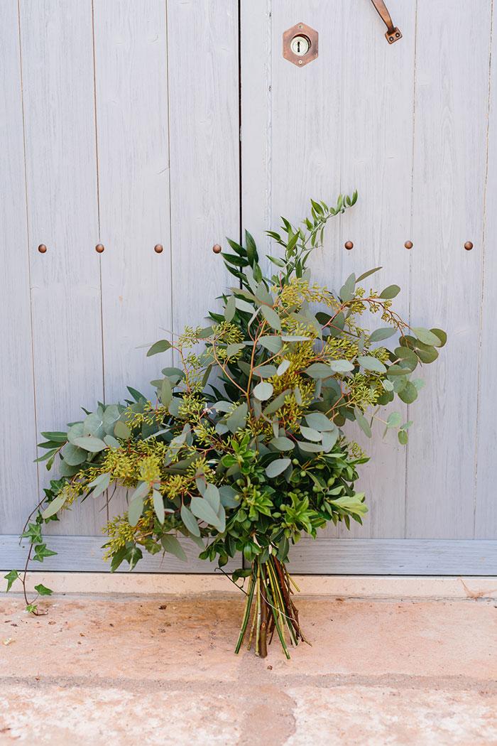 para quem não quer um bouquet tradicional, os verdes cumprem e bem !