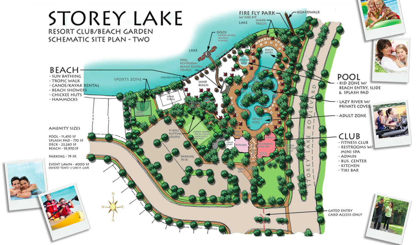 Amenities at Storey Lake