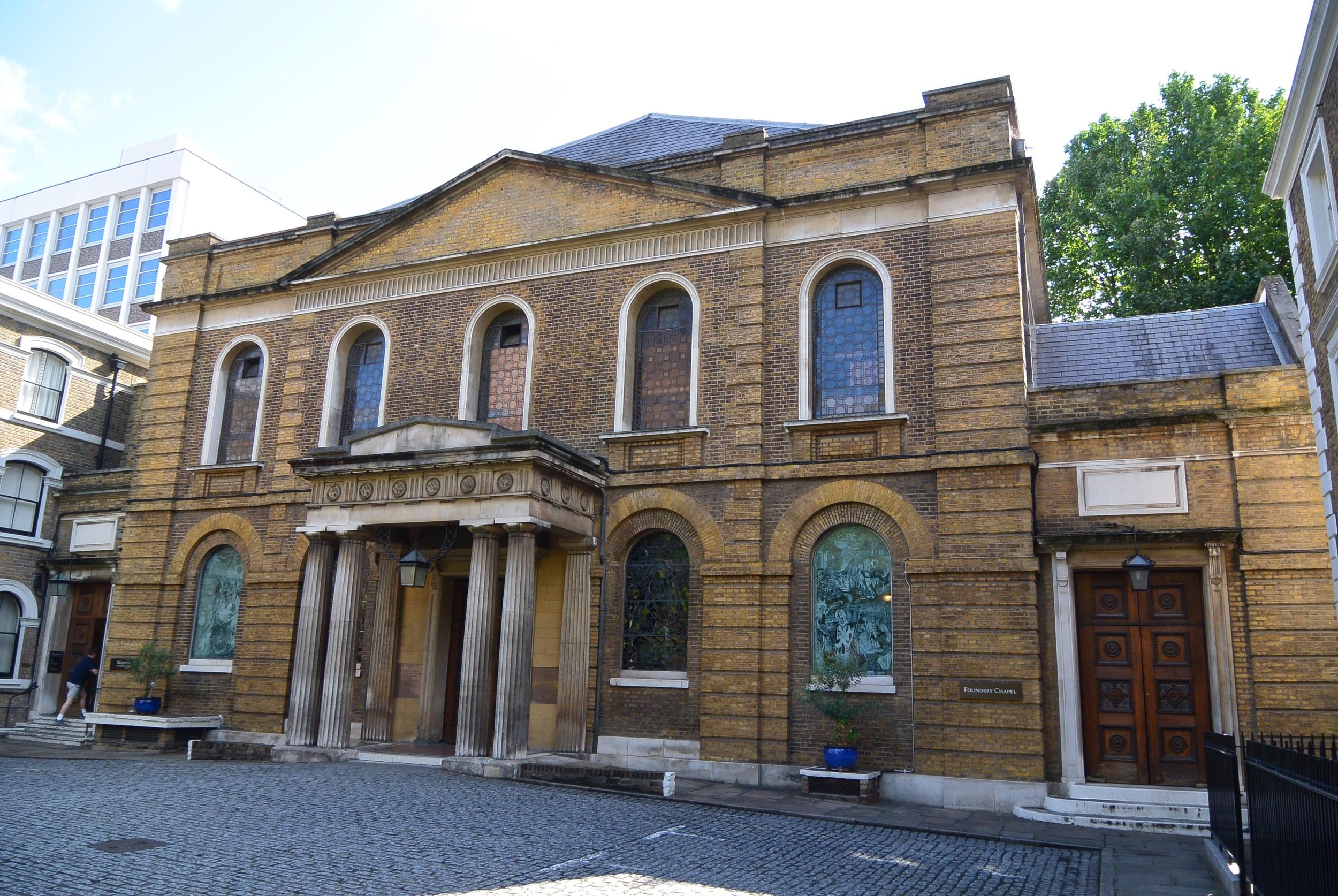 City Road Chapel, London