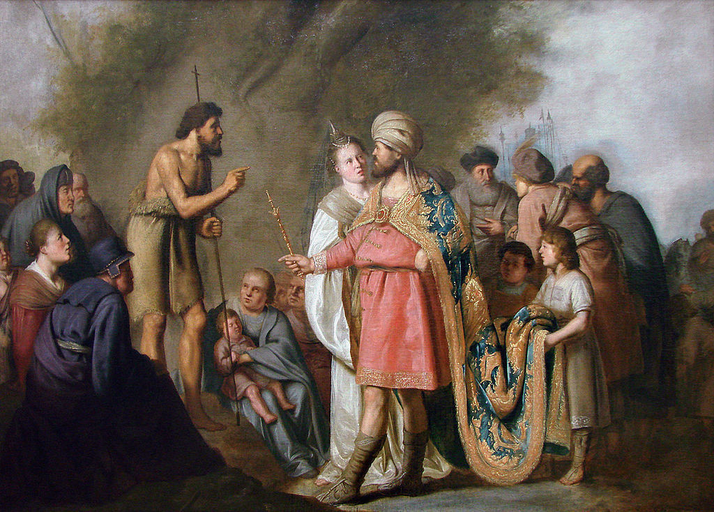 John the Baptist and Herod Antipas by Pieter de Grebber ca. 1600-1653