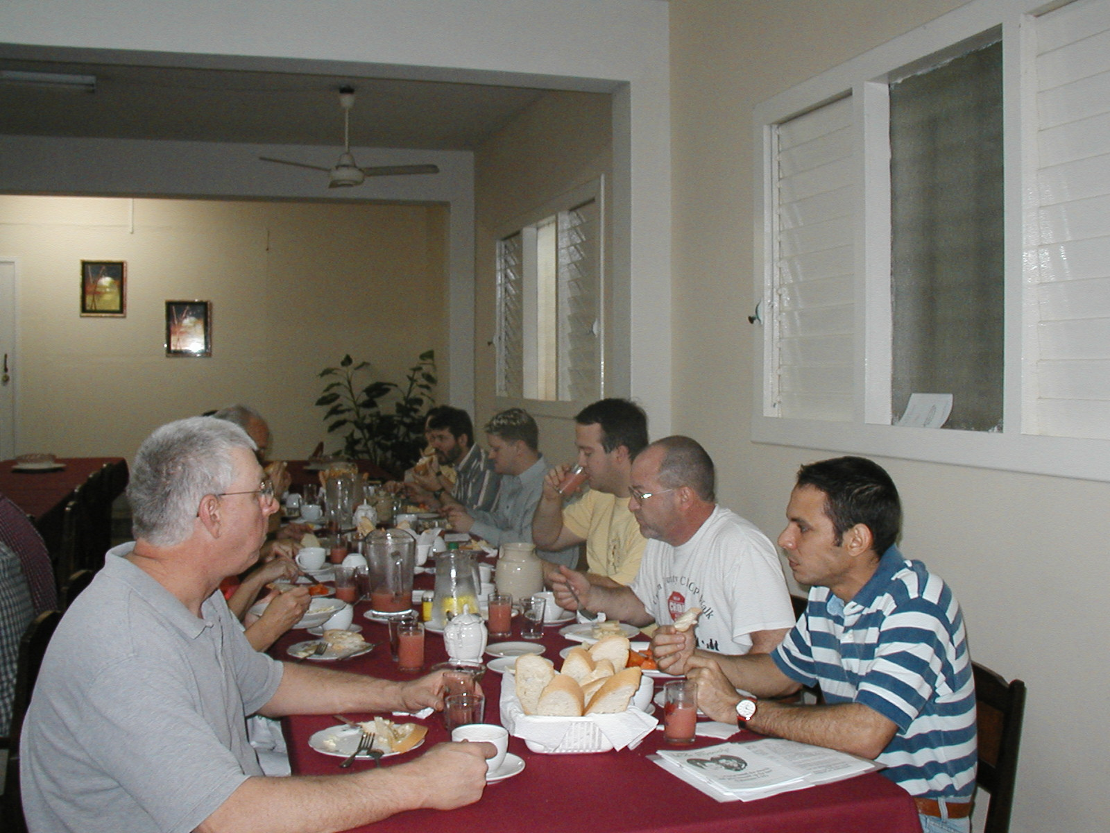 Meal time in Cuba