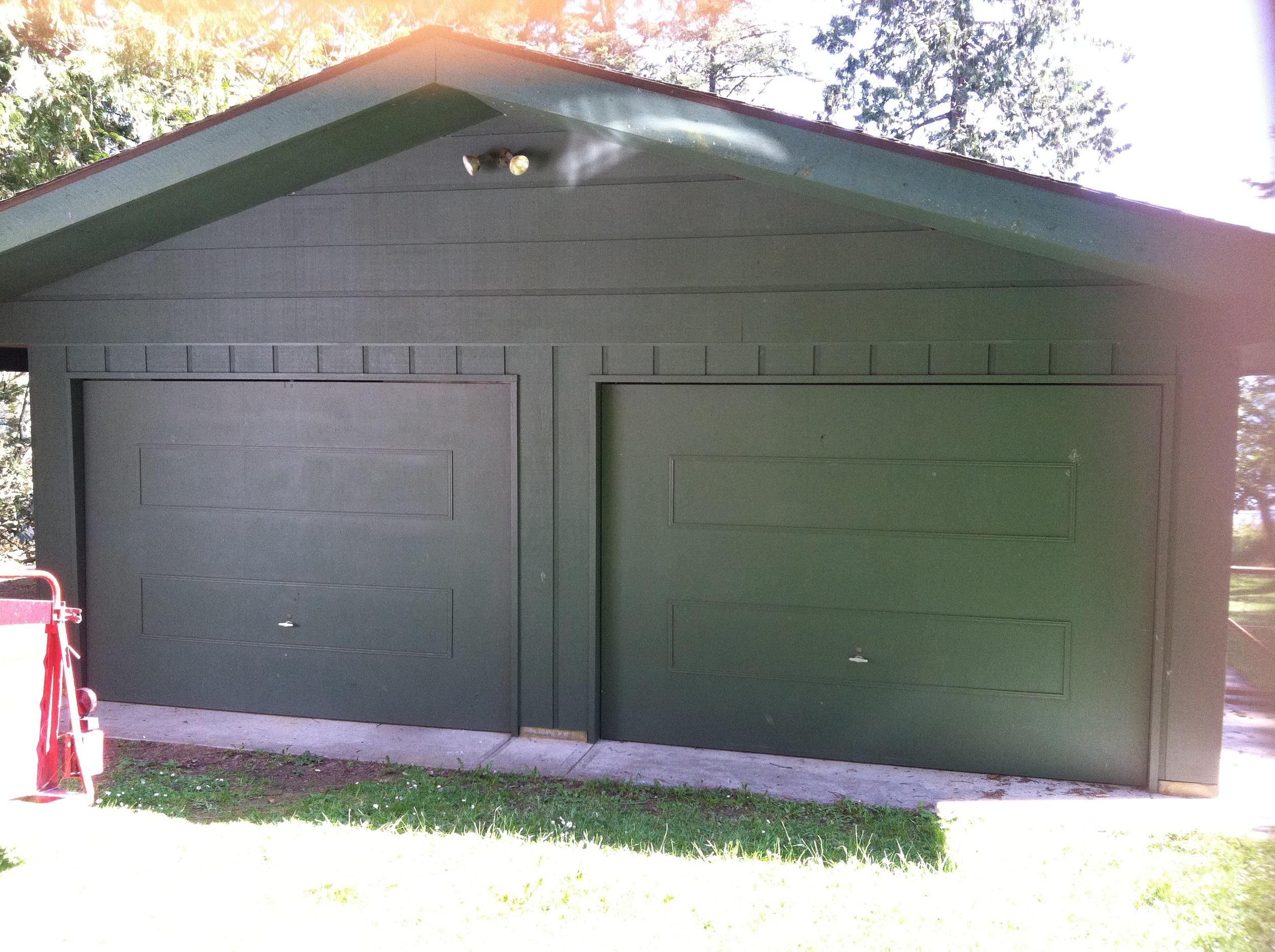 Reynolds Garage Before Remodel