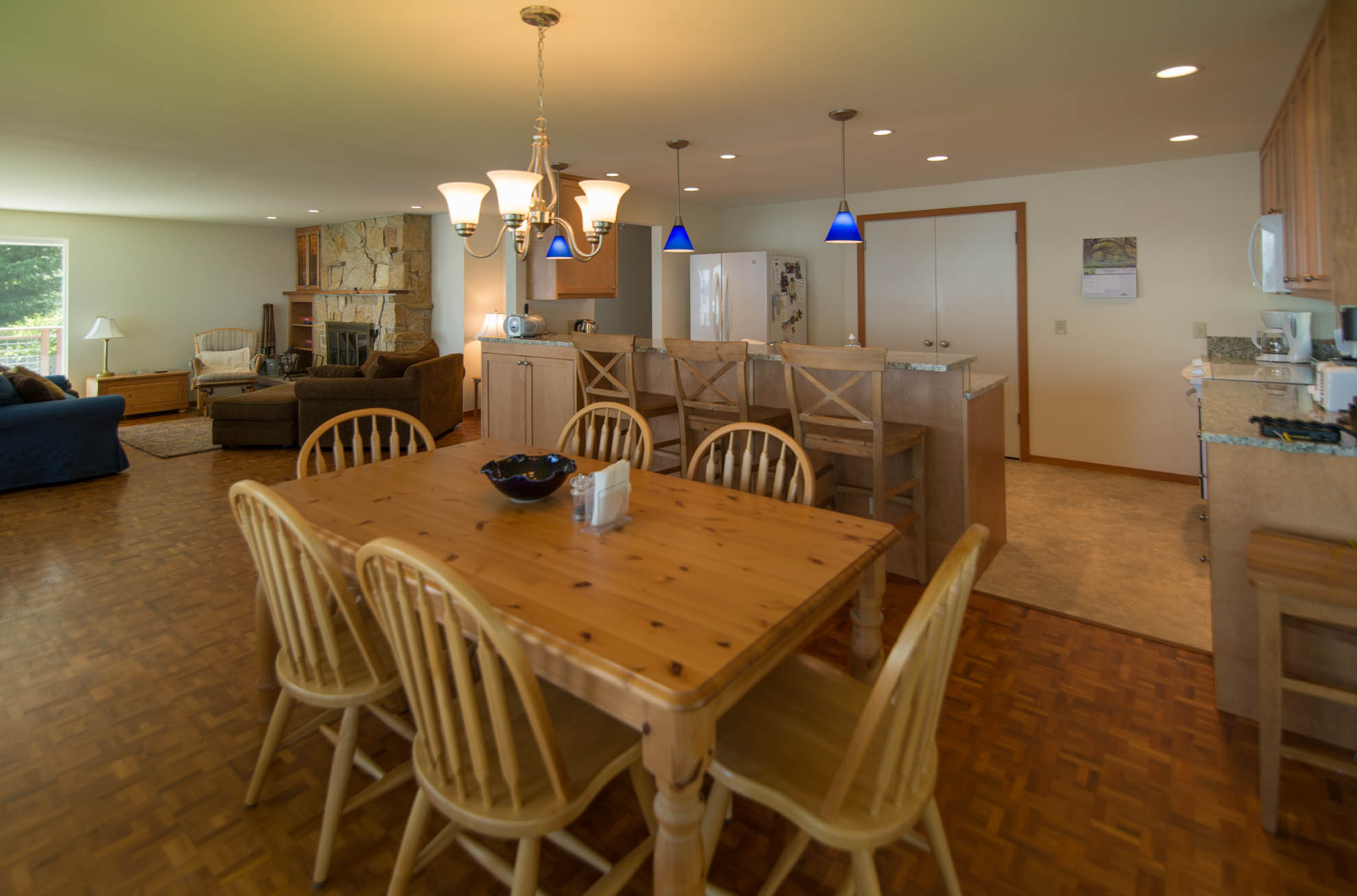 Reynolds Remodel Dining Room, Bar and Living Room