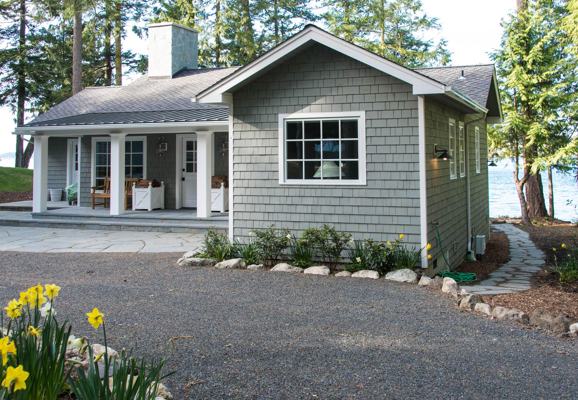 Friday Harbor, San Juan Island - Davidson Head Custom Guest House Exterior