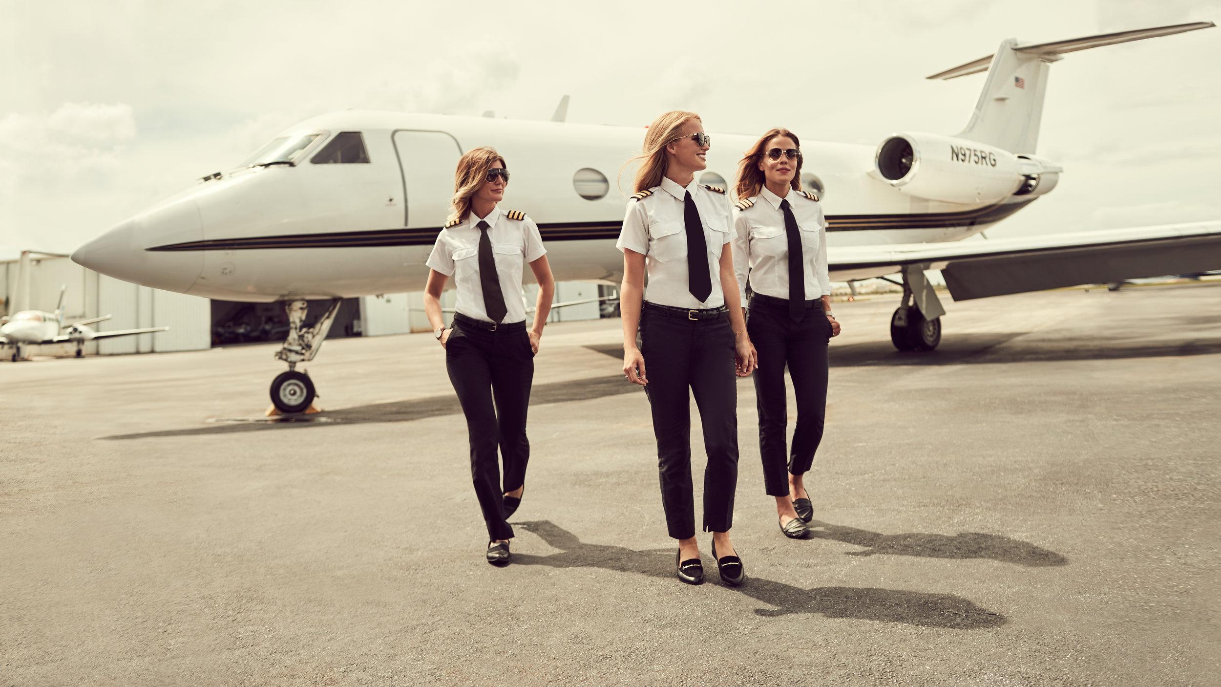 Copy of @pilotmaria, @flymalin, @mariathepilot for Carrera x ELLE