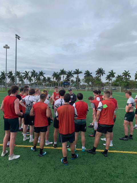 Practice at Florida International University