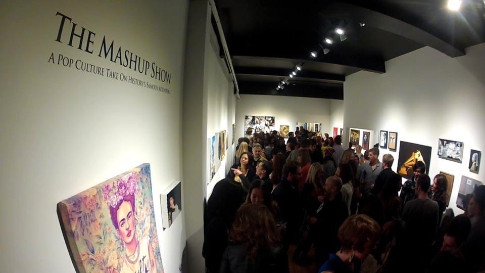 The Mashup Show opening night
