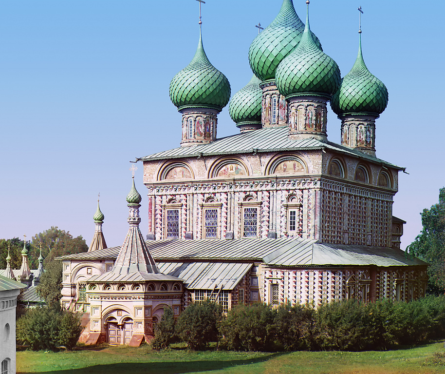Church of the Resurrection in the Grove, Kostroma, Russia, 1910