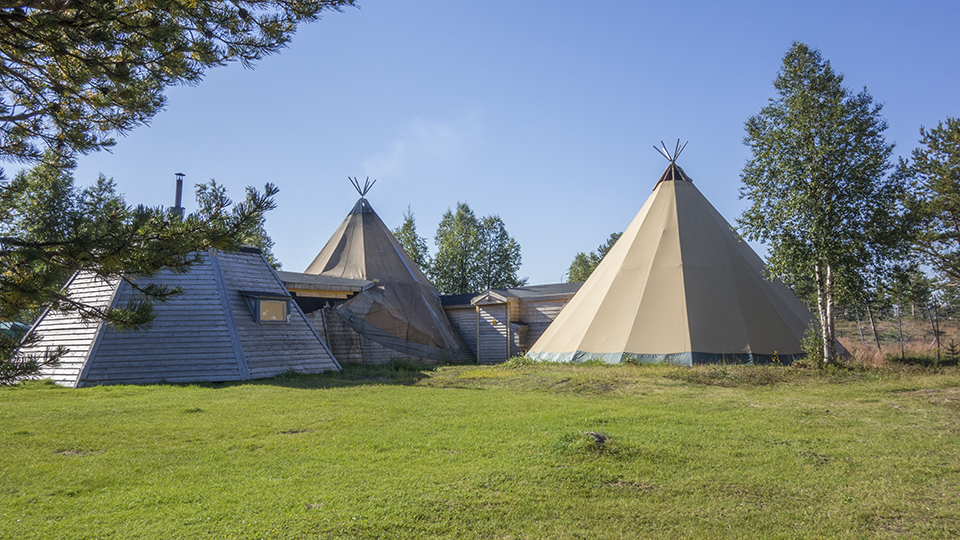 Sami camp, Jukkasjärvi