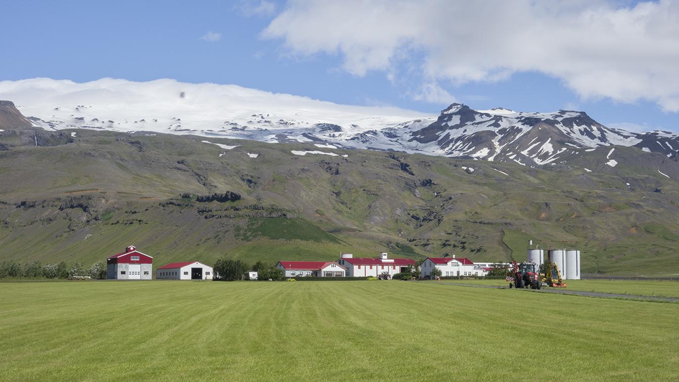 Eyjafjallajökull volcano