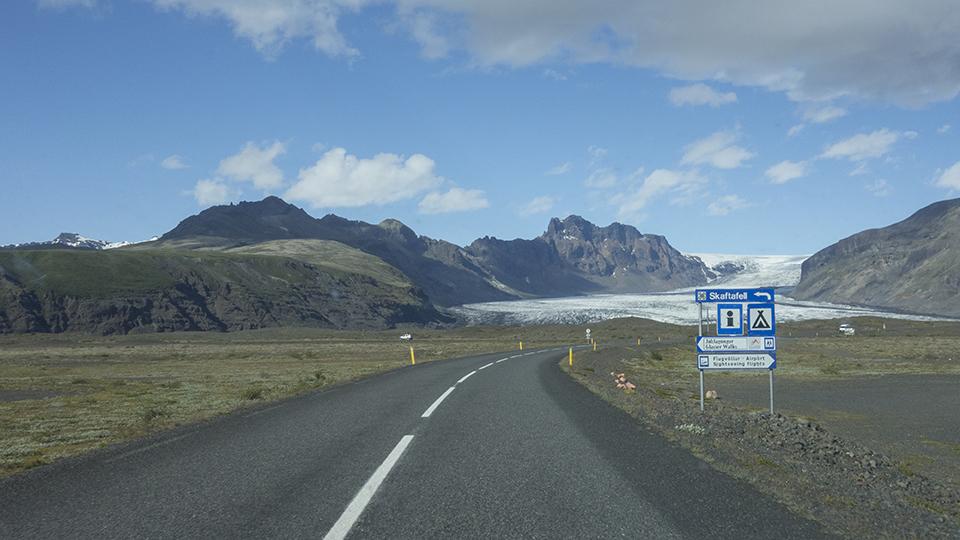 Hwy 1 near Skaftafell