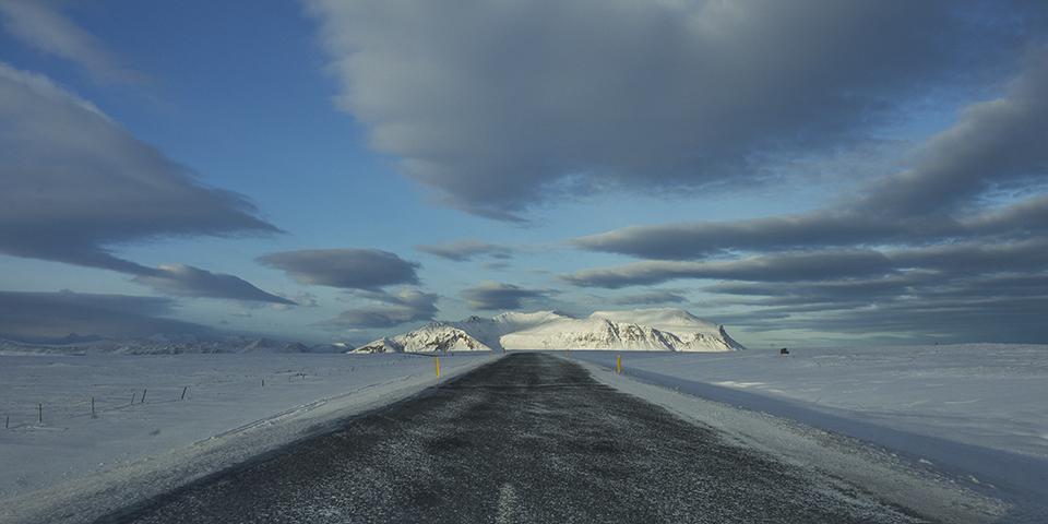 Bjarnarhafnarfjall, Iceland