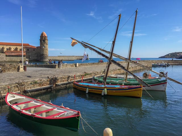 Barques, Collioure, France
