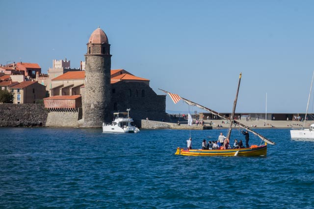 Collioure Harbor, France