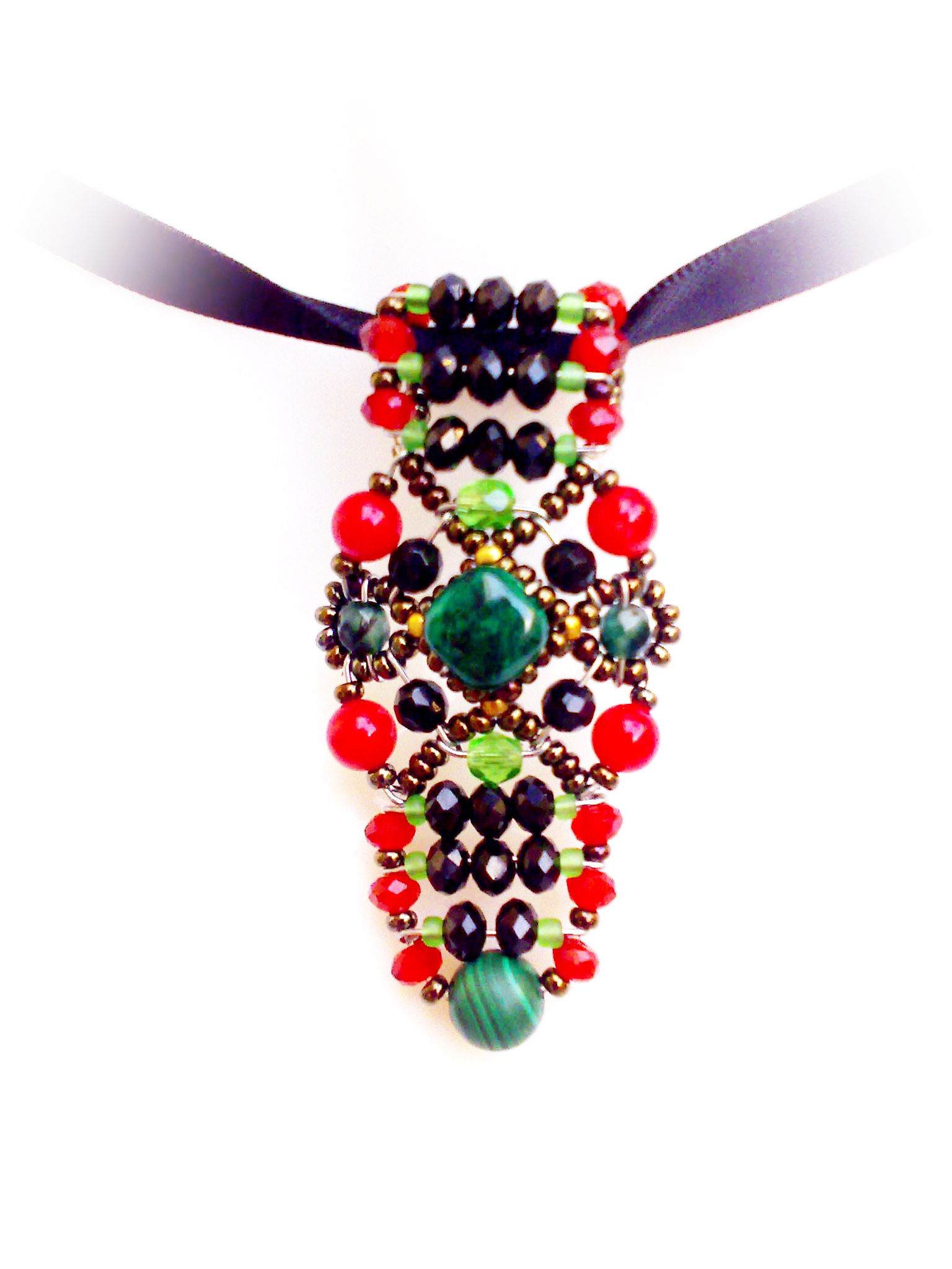 Sheherezade Coral - pendant