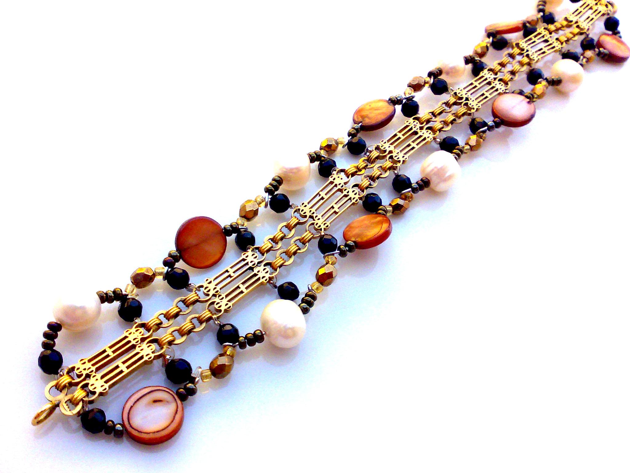 Golden Bracelet Anna
