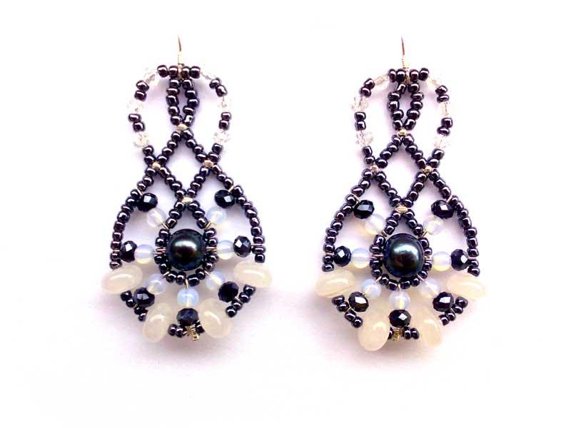 Mini Lucky Charm Rococo - earrings